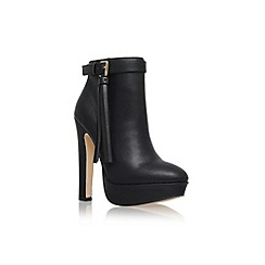Lipsy - Black 'Katie' high heel ankle boot with tassel