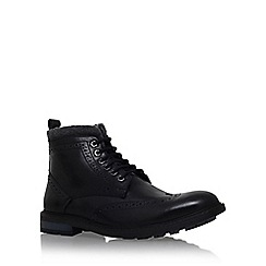 KG Kurt Geiger - Black 'Bilmore' lace up boot