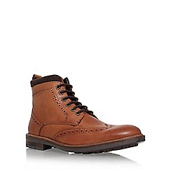 KG Kurt Geiger - Brown 'Bilmore' lace up boot