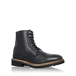 KG Kurt Geiger - Black 'Hibbert' lace up boot