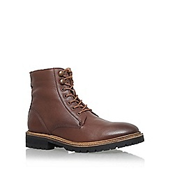 KG Kurt Geiger - Brown 'Hibbert' lace up boot