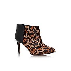 Nine West - Brown/oth 'Valid5' high heel printed ankle boot