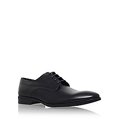 KG Kurt Geiger - Black 'Atherton' flat lace up formal shoe