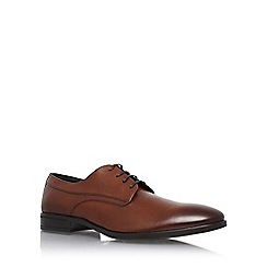 KG Kurt Geiger - Tan 'Atherton' flat lace up formal shoe