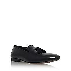 KG Kurt Geiger - Black 'Lennox' tassel loafer