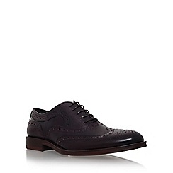 KG Kurt Geiger - Wine 'Luther' flat lace up formal shoe