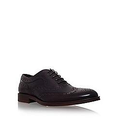 KG Kurt Geiger - Wine 'Luther' flat lace up formal shoe