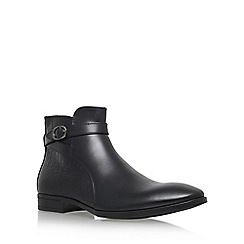 KG Kurt Geiger - Black 'Nelson' chelsea boot with zip