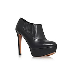 Nine West - Black 'Disclosure' high heel platform shoe ankle boot