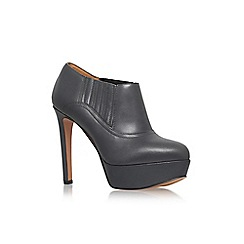 Nine West - Grey 'Disclosure' high heel platform shoe ankle boot