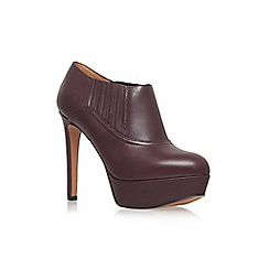 Nine West - Wine 'Disclosure' high heel platform shoe ankle boot