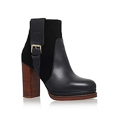 KG Kurt Geiger - Black 'Sibling' high heel ankle boot