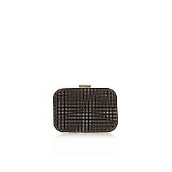 Carvela - Black 'Gilda clutch' bag with shoulder chain