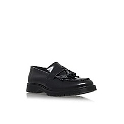 KG Kurt Geiger - Black 'Sidney' flat slip on loafer