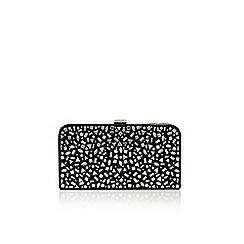 Carvela - Black 'Glow clutch' clutch bag with shoulder chain