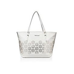 Nine West - White 'It girl tote LG' handbag with shoulder strap