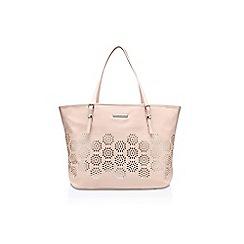 Nine West - Pink 'It girl tote LG' handbag with shoulder strap