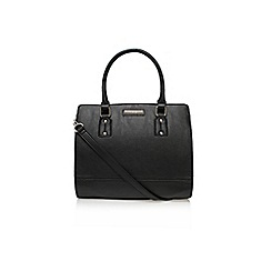 Nine West - Black 'You and me satchel' large handbag with shoulder strap
