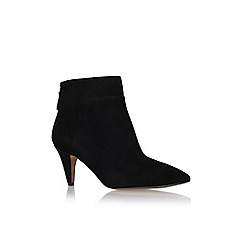 Nine West - Black 'jinxie' high heel ankle boot