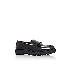 Nine West - Black 'juniper3' flat slip on loafer