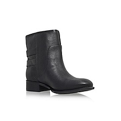 Nine West - Black 'Justthis' low block heel ankle boot