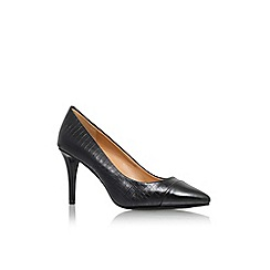 Nine West - Black 'Pano' high heel court shoe