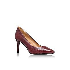 Nine West - Red 'Pano' high heel court shoe