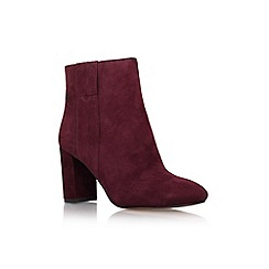 Nine West - Wine 'whynot' high heel ankle boot