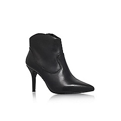 Nine West - Black 'Nojulius' high heel pointed toe ankle boot
