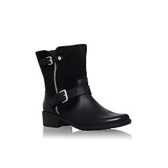 Anne Klein - Black 'Leyna' low block heel ankle boot