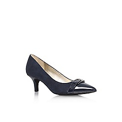 Anne Klein - Navy 'Faigel2' low heel court shoe
