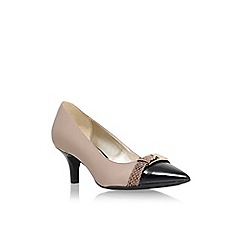 Anne Klein - Taupe 'Faigel3' low heel court shoe