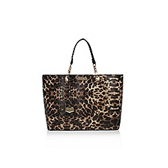 Carvela - Blk/Brown 'Hera leapoard bag' handbag