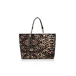 Carvela - Blk/Brown 'Hera leapoard bag' handbag
