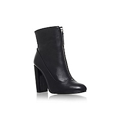 Carvela - Black 'Stephan' high block heel ankle boot