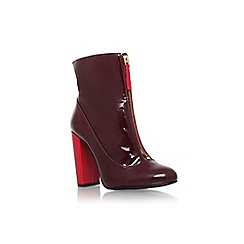 Carvela - Wine 'Stephan' high block heel ankle boot