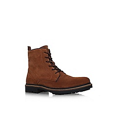 KG Kurt Geiger - Brown 'Howard' lace up boot