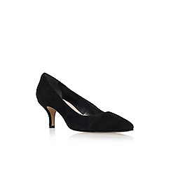 Carvela - Black 'Anna' mid heel court shoe