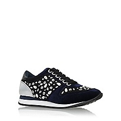 Carvela - Blue 'Loco' low heel lace up sneaker