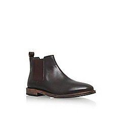 KG Kurt Geiger - Bootle brown low heel ankle boot