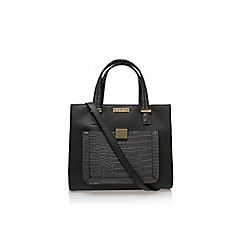 Carvela - Grey 'Helia croc lock pckt bag' large handbag