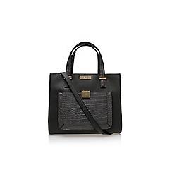 Carvela - Grey 'Helia croc lock pckt bag' large handbag