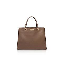 Carvela - Taupe 'hala multi cmprtmnt bag' handbag