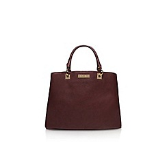 Carvela - Wine 'hala multi cmprtmnt bag' handbag
