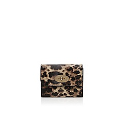 Carvela - Brown 'Hady lock wallet' envelope clutch bag