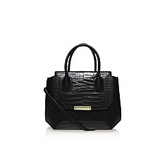 Nine West - Black 'Balancing act satchel' large handbag