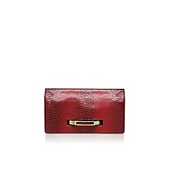 Nine West - Red 'Nori clutch md' handbag with chain