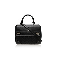 Nine West - Black 'Flip lock shoulder' large handbag