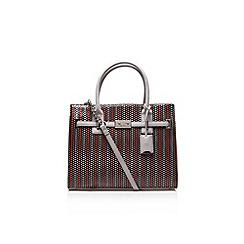 Nine West - Grey 'Internal Affairs Tote' handbag with shoulder straps