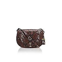 Nine West - Brown 'In the loop cb' medium handbag with shoulder strap